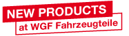 New products at WGF Fahrzeugteile
